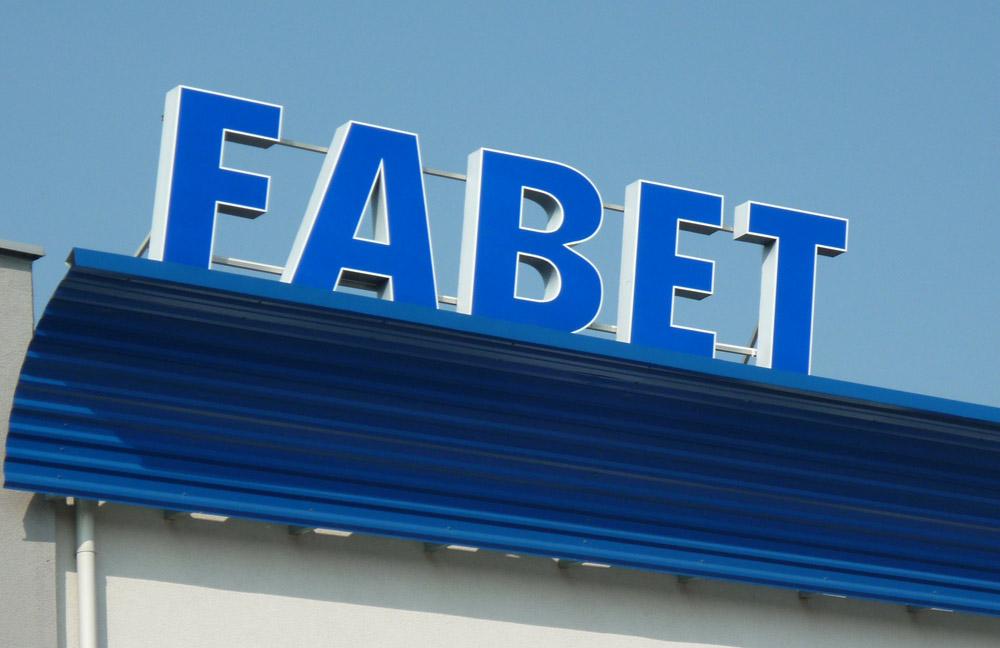 Litery blokowe dla firmy Fabet