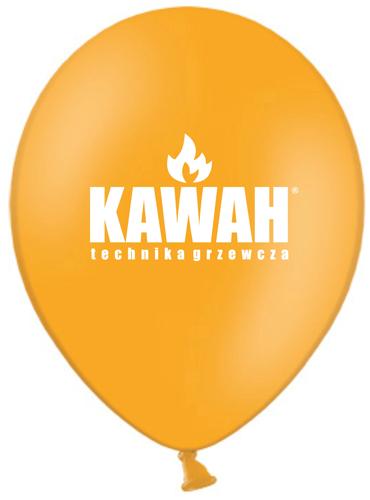 Balony reklamowe dla firmy KAWAH
