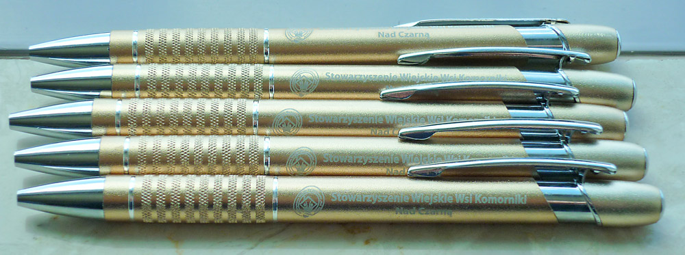 Oznakowanie długopisów – długopis SONIC