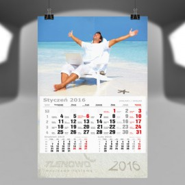 Kalendarz jednodzielny – projekty