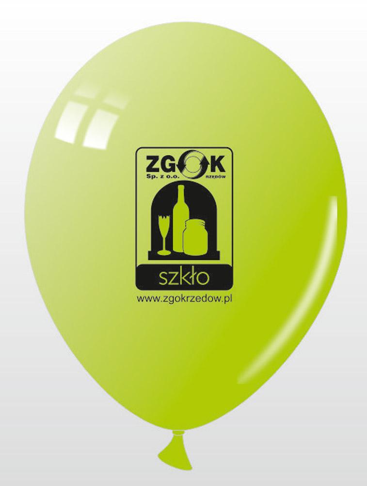 Balony reklamowe dla ZGOK